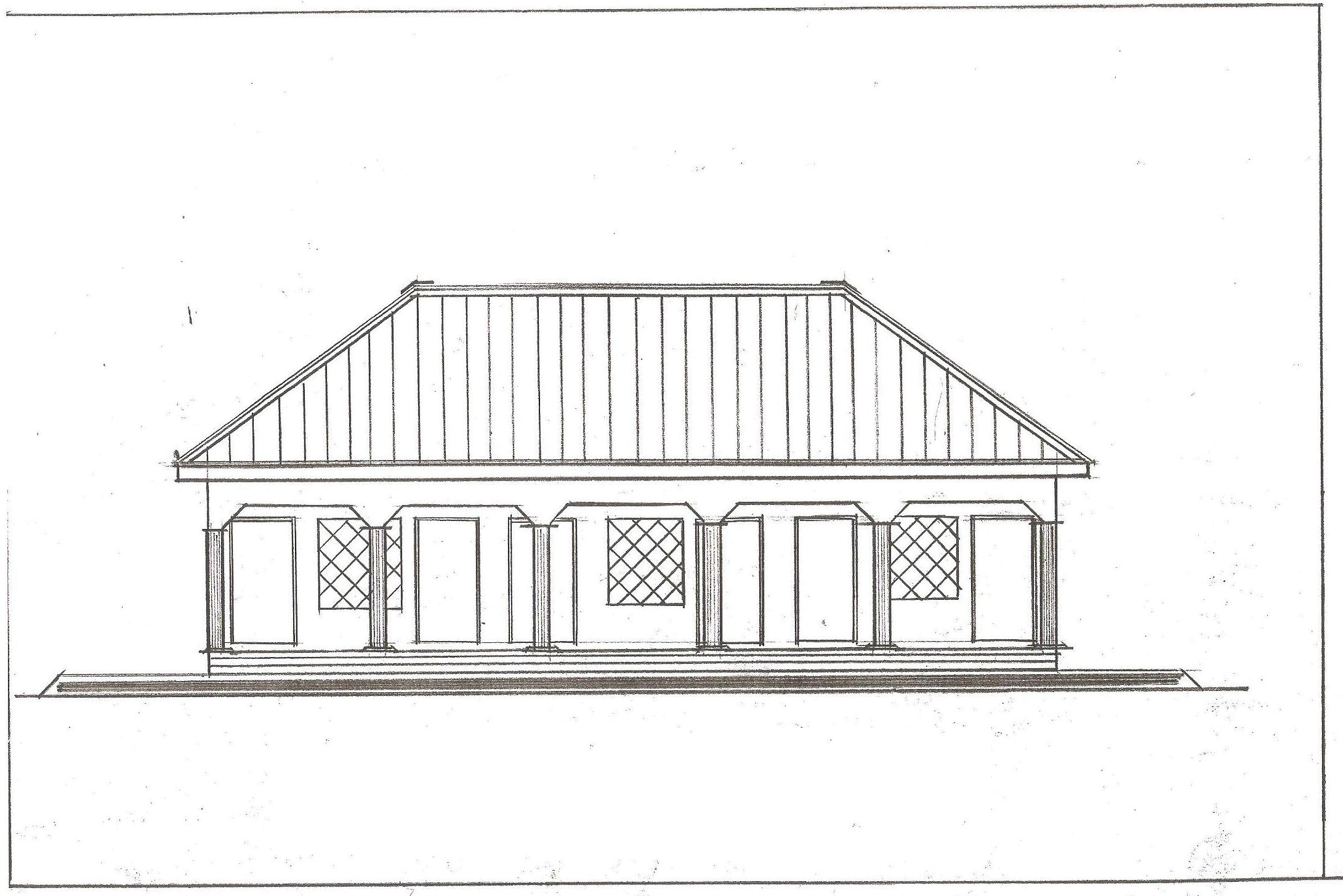 Front Elevation School Building : Front elevation building for the future generation